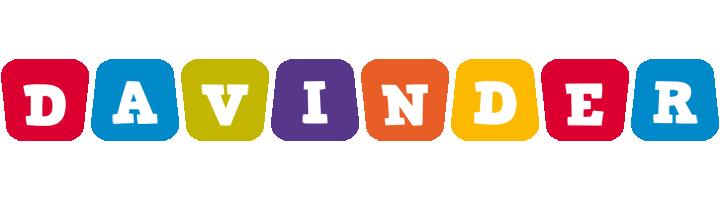 Davinder kiddo logo