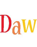 Daw birthday logo