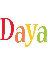 Daya birthday logo