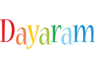 Dayaram birthday logo