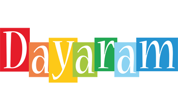 Dayaram colors logo