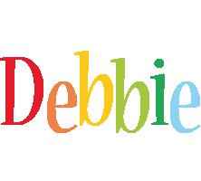 Debbie birthday logo