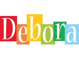 Debora colors logo