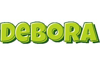 Debora summer logo