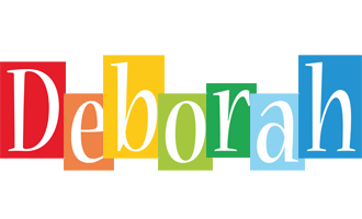 Deborah colors logo