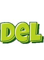 Del summer logo