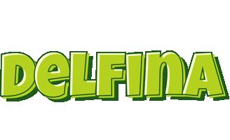 Delfina summer logo