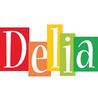 Delia colors logo
