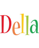Della birthday logo