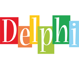 Delphi colors logo