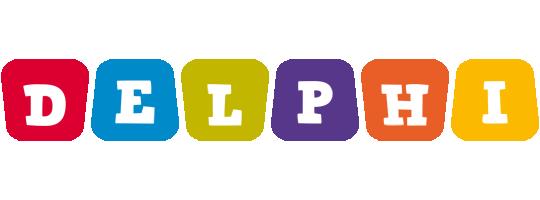 Delphi kiddo logo