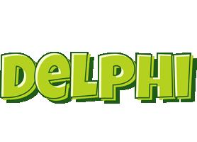 Delphi summer logo