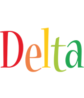 Delta birthday logo