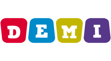 Demi kiddo logo