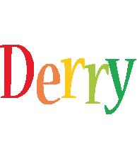 Derry birthday logo