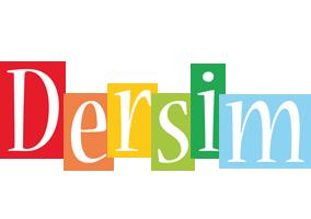 Dersim colors logo