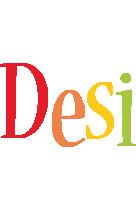 Desi birthday logo
