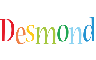 Desmond birthday logo