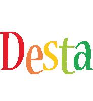 Desta birthday logo