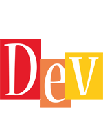 Dev colors logo
