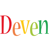 Deven birthday logo