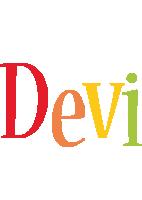 Devi birthday logo