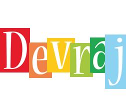 Devraj colors logo