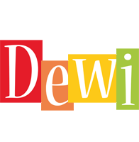 Dewi colors logo