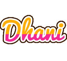 Dhani smoothie logo