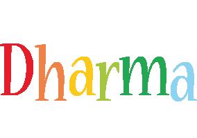Dharma birthday logo
