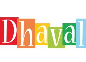 Dhaval colors logo