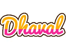 Dhaval smoothie logo