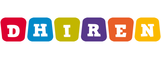Dhiren kiddo logo