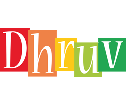 Dhruv colors logo