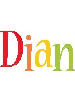 Dian birthday logo