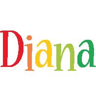 Diana birthday logo