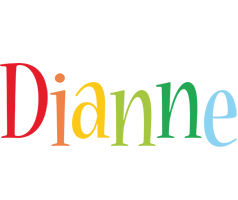 Dianne birthday logo