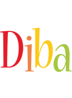 Diba birthday logo