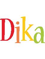 Dika birthday logo