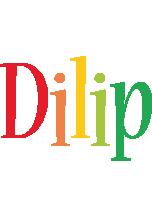 Dilip birthday logo