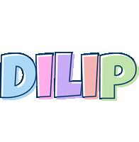 Dilip pastel logo