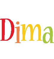 Dima birthday logo
