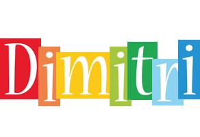 Dimitri colors logo