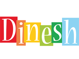 Dinesh colors logo