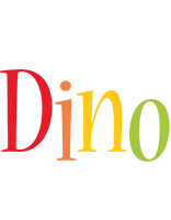 Dino birthday logo