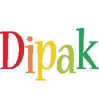 Dipak birthday logo