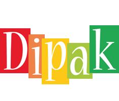 Dipak colors logo