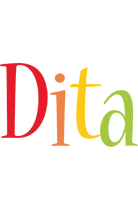 Dita birthday logo