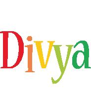 Divya birthday logo