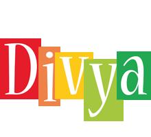 Divya colors logo